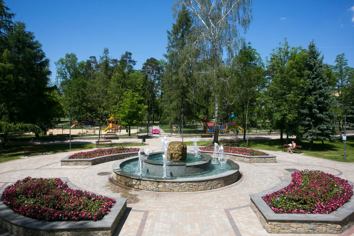 Municipal Park in Nowy Targ