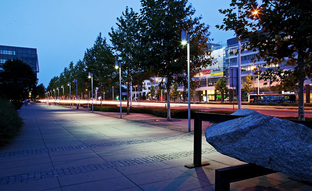 Projektowanie Parków I Małej Architektury Oświetlenie Park M
