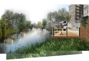 Zagospodarowania terenów nabrzeży rzeki Oławy we Wrocławiu