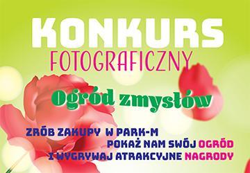 Rozstrzygnięcie konkursu fotograficznego Centrum Ogrodniczego Park-M