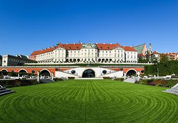 Park – M zakończył rewaloryzację Ogrodów Dolnych Zamku Królewskiego   w Warszawie